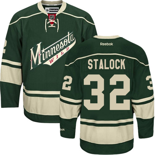 Men's Kevin Fiala Premier Green Home Jersey: Hockey #22 Minnesota Wild