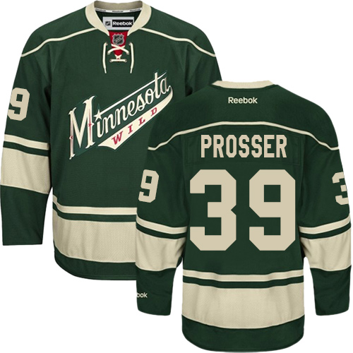 Youth Kevin Fiala Premier Green Home Jersey: Hockey #22 Minnesota Wild