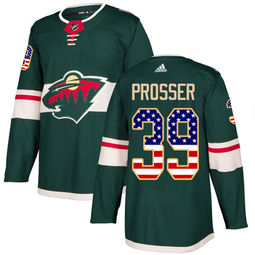 Youth Kevin Fiala Premier Green Jersey: Hockey #22 Minnesota Wild Salute to Service