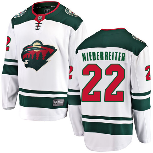 Men's Gabriel Dumont Premier Green Home Jersey: Hockey #40 Minnesota Wild