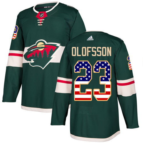 Youth Gabriel Dumont Premier Green Jersey: Hockey #40 Minnesota Wild Salute to Service